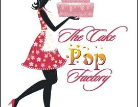 #111 untuk Logo Design for The Cake Pop Factory oleh Djbaba