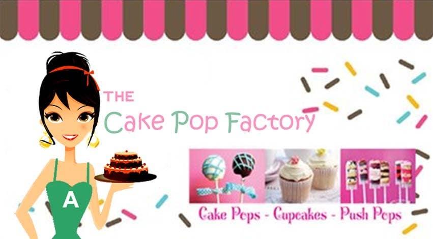Kilpailutyö #62 kilpailussa Logo Design for The Cake Pop Factory