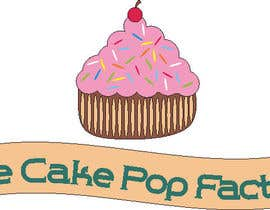 nº 151 pour Logo Design for The Cake Pop Factory par xynub