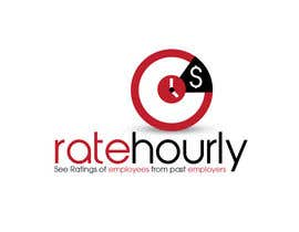 #1 untuk Design a Logo for Rate Hourly oleh wavyline