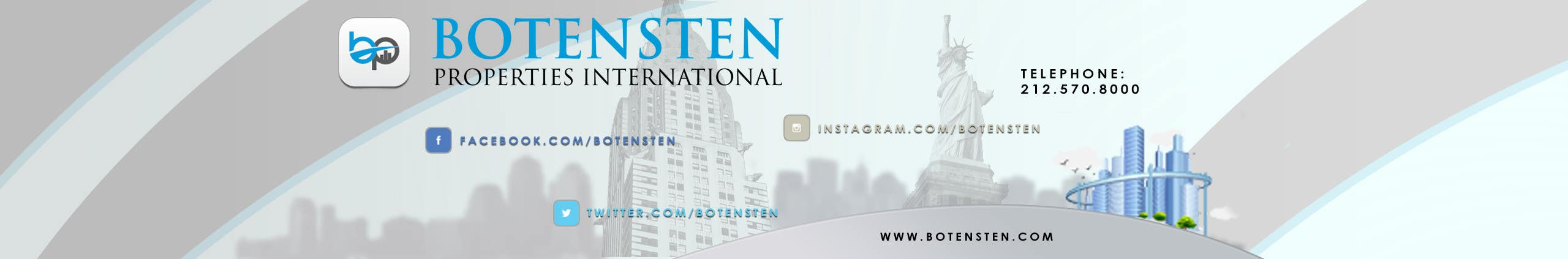 Contest Entry #11 for Design Youtube Cover for NYC Real Estate Firm