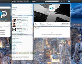 #17 cho Design Twitter Background for NYC Real Estate Firm bởi draison