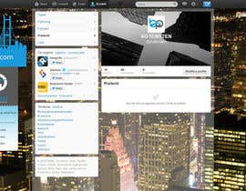#32 cho Design Twitter Background for NYC Real Estate Firm bởi draison