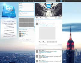 #21 para Design Twitter Background for NYC Real Estate Firm por NenadKaevik