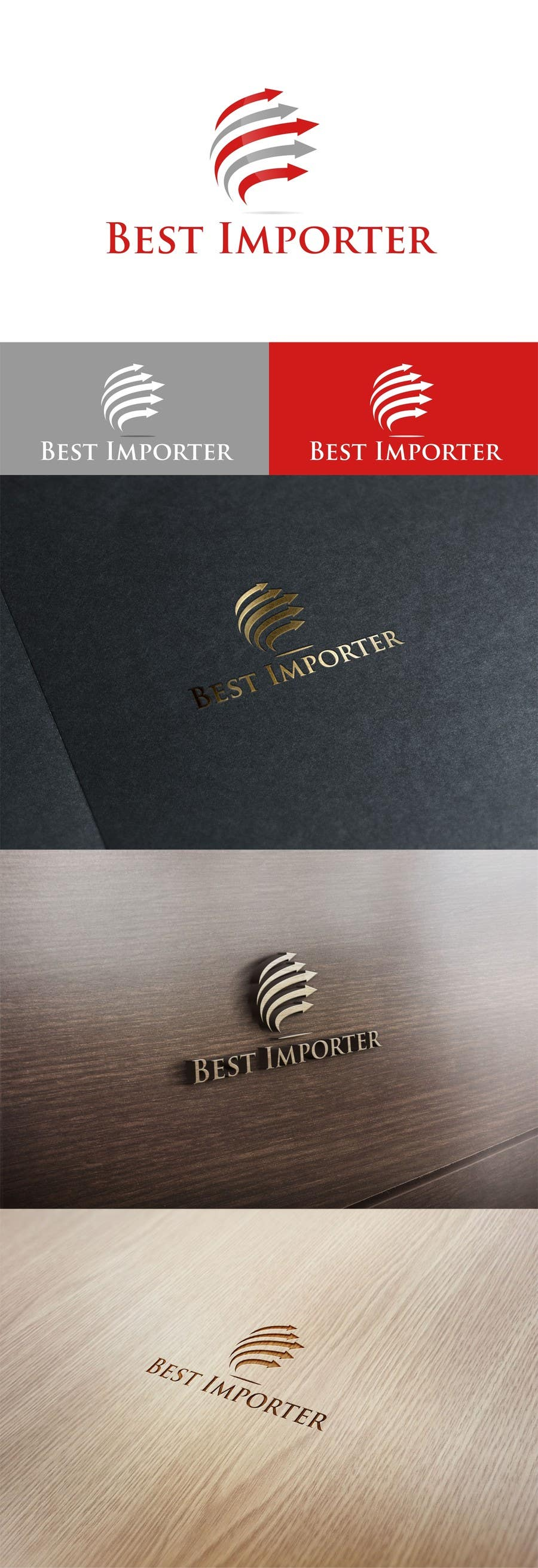 #40 for Design a Logo for an Importer / Wholesaler Company by creativodezigns