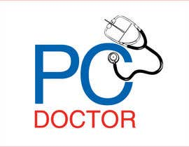 #43 para Design a Logo for The PC Doctor por amcgabeykoon