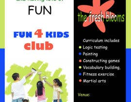 #10 for Design a Flyer for Kids club af niladrilx