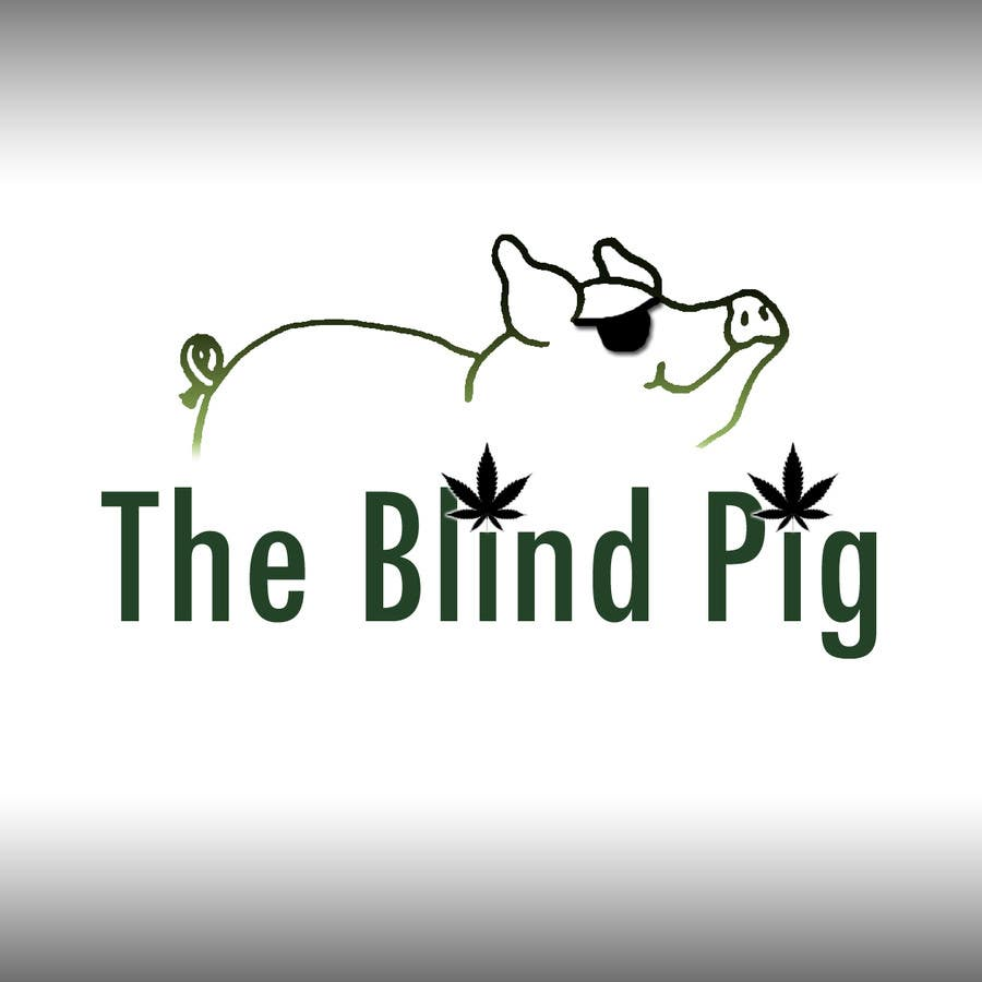 """#11 for Design a Logo for """"The Blind Pig"""" - A Marijuana Retail Store by mohitekishor"""