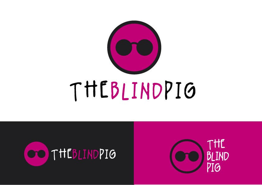 """#41 for Design a Logo for """"The Blind Pig"""" - A Marijuana Retail Store by alfonself2012"""