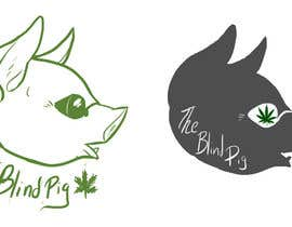 "#115 untuk Design a Logo for ""The Blind Pig"" - A Marijuana Retail Store oleh RileyOMalley"