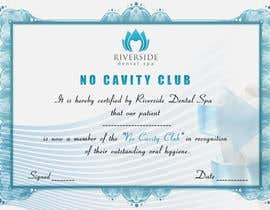 nº 5 pour I need some Graphic Design for a dental surgery Patent award certificate par clementalwin