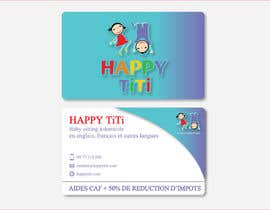 #38 for Logo and Business Card for Happy Titi (baby-sitting) by Vanai