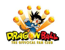 nº 26 pour Dragonball the official fan club par ninoblackwhite