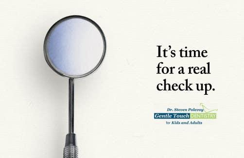 Recall Postcard for dental office için 11 numaralı Yarışma Girdisi