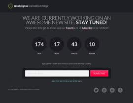 #14 cho Design a Coming Soon Landing Page For an Auction Website bởi piratepixel