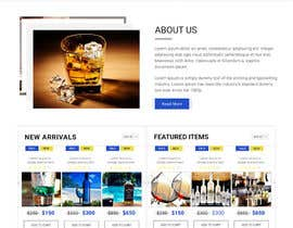 webmastersud tarafından Design a Website Mockup For A Liquor Store için no 24