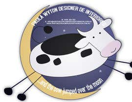 nº 2 pour Design an optional logo for and the cow jumped over the moon par rayallaraghu21