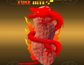#10 for Design a Logo for Dragon Fire Bites (Spicy Snack) af martinhozinho