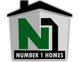 nº 17 pour Design a Logo for N1Homes (Number1Homes) par TheKPCo