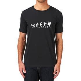 "ozafebri tarafından Design an ""Evolution of Man to Carp Fisherman"" T-Shirt için no 7"