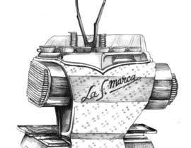 nº 19 pour Illustrate a vintage espresso machine.. par webcloud9