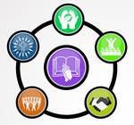 Graphic Design Inscrição do Concurso Nº67 para Eye-catching graphic logo + 5 clear icons for our church group