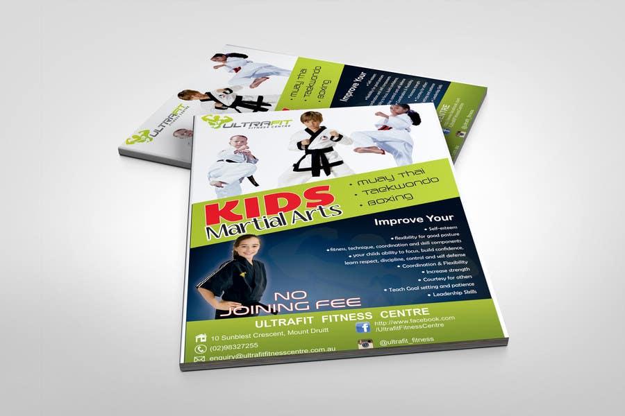 Inscrição nº                                         25                                      do Concurso para                                         Design a Flyer for Kids Martial Arts Classes