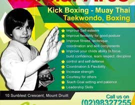 #31 for Design a Flyer for Kids Martial Arts Classes af mjuliakbar