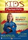 Graphic Design Inscrição do Concurso Nº12 para Design a Flyer for Kids Martial Arts Classes