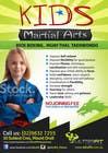 Graphic Design Inscrição do Concurso Nº18 para Design a Flyer for Kids Martial Arts Classes