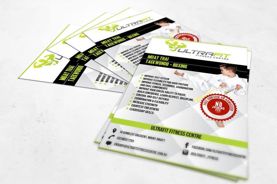 Inscrição nº                                         16                                      do Concurso para                                         Design a Flyer for Kids Martial Arts Classes