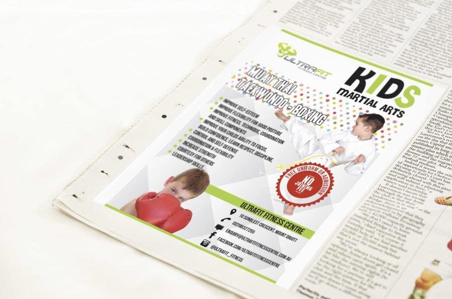 Kilpailutyö #24 kilpailussa Design a Flyer for Kids Martial Arts Classes