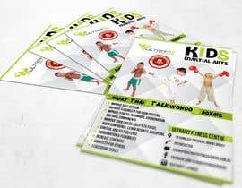 nº 28 pour Design a Flyer for Kids Martial Arts Classes par SagarChitrakar