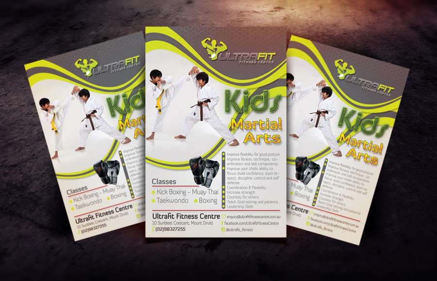 Inscrição nº                                         36                                      do Concurso para                                         Design a Flyer for Kids Martial Arts Classes