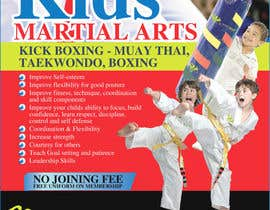 #30 for Design a Flyer for Kids Martial Arts Classes af amcgabeykoon