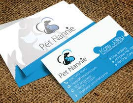 OnpointJamie tarafından Design some Business Cards for Pet Nannie için no 51