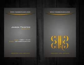 #59 para Business Card Design for The BBC Music por F5DesignStudio