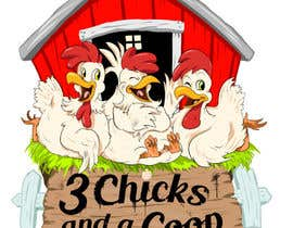 #97 untuk NEED SPUNKY CARTOON-LIKE CHICKENS FOR LOGO DESIGN oleh momotaros