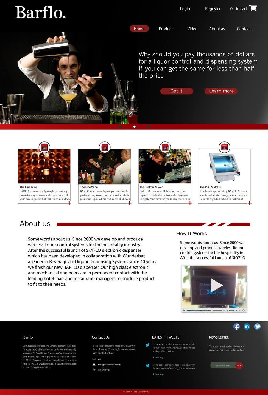 #37 for Design a Website Mockup for full website by aocta912