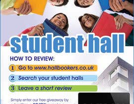 #48 for Design a Flyer/Poster for Hallbookers by amcgabeykoon