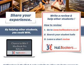 #58 for Design a Flyer/Poster for Hallbookers by pointlesspixels