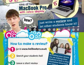 #51 for Design a Flyer/Poster for Hallbookers by SebaComun
