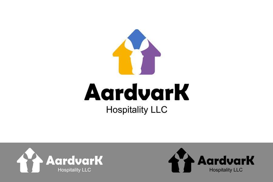 Konkurrenceindlæg #94 for Logo Design for Aardvark Hospitality L.L.C.