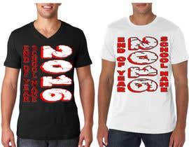Nro 21 kilpailuun T-shirt design for end of year school käyttäjältä Exer1976