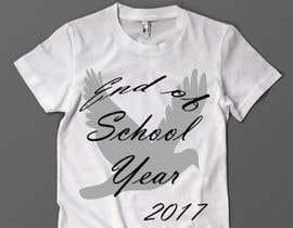 Nro 11 kilpailuun T-shirt design for end of year school käyttäjältä s1pkmondal
