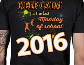 Nro 27 kilpailuun T-shirt design for end of year school käyttäjältä masobhan64