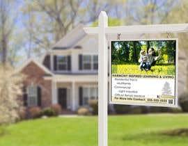 Nro 4 kilpailuun Large Outdoor Real Estate Sign for a Development käyttäjältä Sohannishu