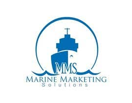 #74 for Design a Logo for Marine Marketing Company by threedrajib