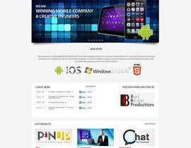 #24 for Design a Wordpress Mockup for new tv tutorial and accessory site by online3