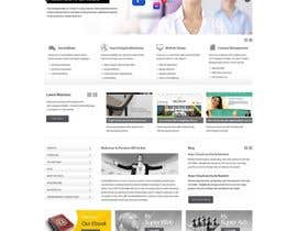 #26 for Design a Wordpress Mockup for new tv tutorial and accessory site by online3